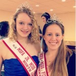 MSFA North Central Junior Miss Fire Prevention Cari McHenry (l)
